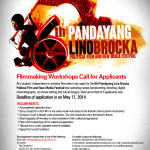 Free Film Workshop from Pandayang Lino Brocka