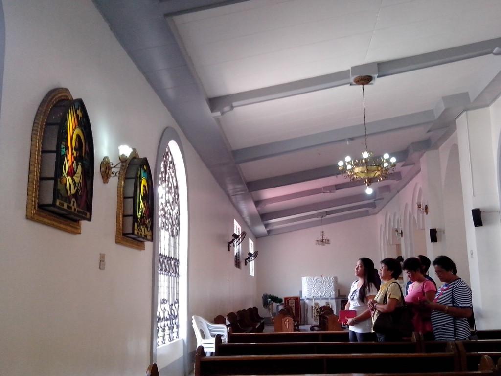 visita iglesia, nuestra senora del pilar, alaminos