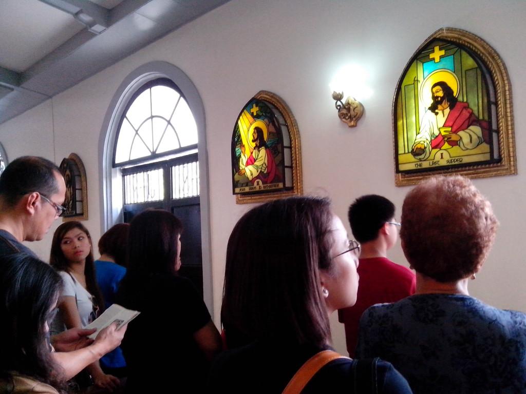 visita iglesia, nustra senora del pilar, alaminos church