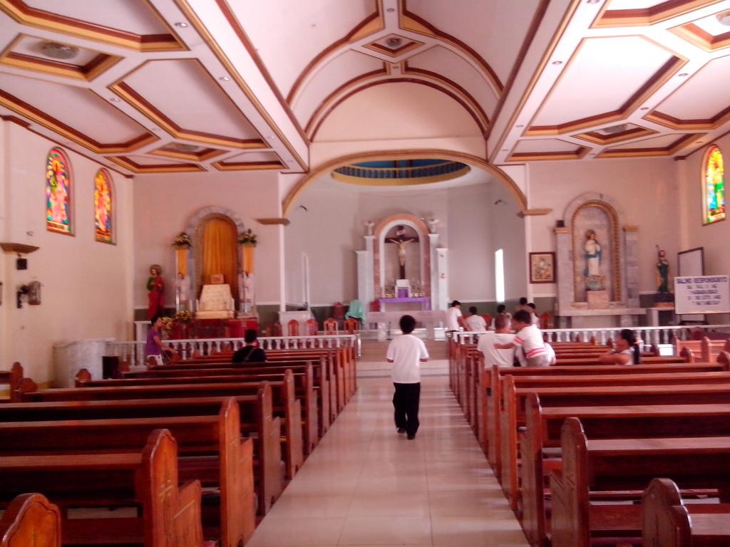 visita iglesia, laguna