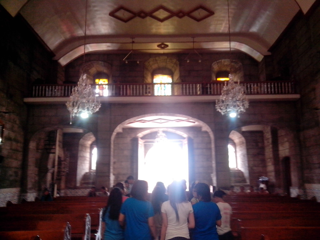visita iglesia, liliw church