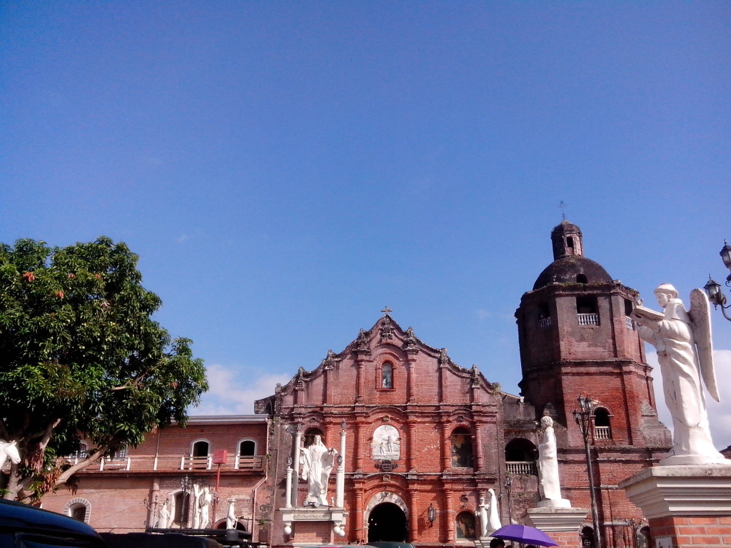 visita iglesia, nagcarlan church