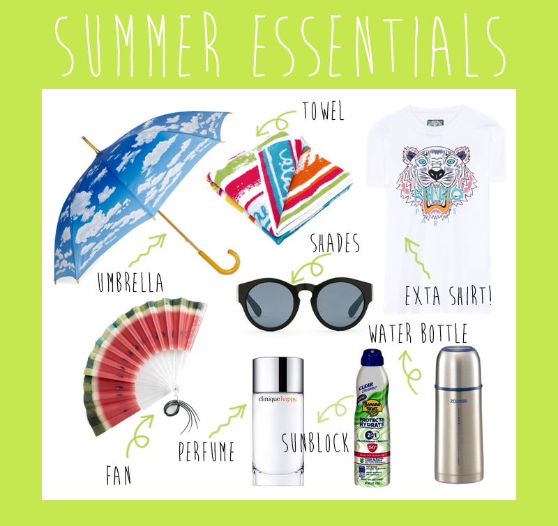 summer essentials 2
