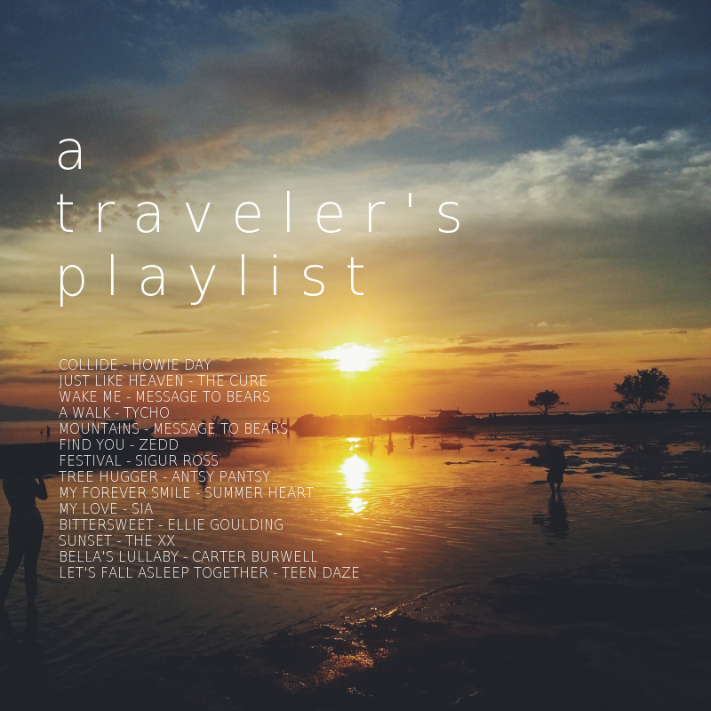 a traveler's playlist final