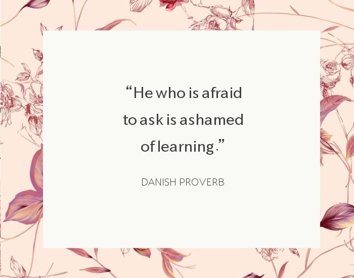 danish proverb