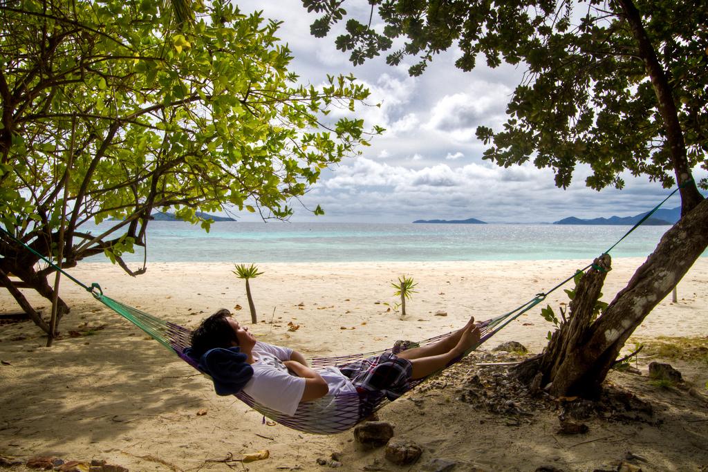 Sleeping Man on a Beach