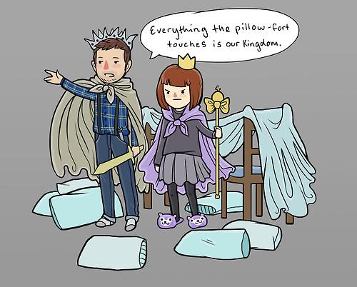 PIllow Fort Comic