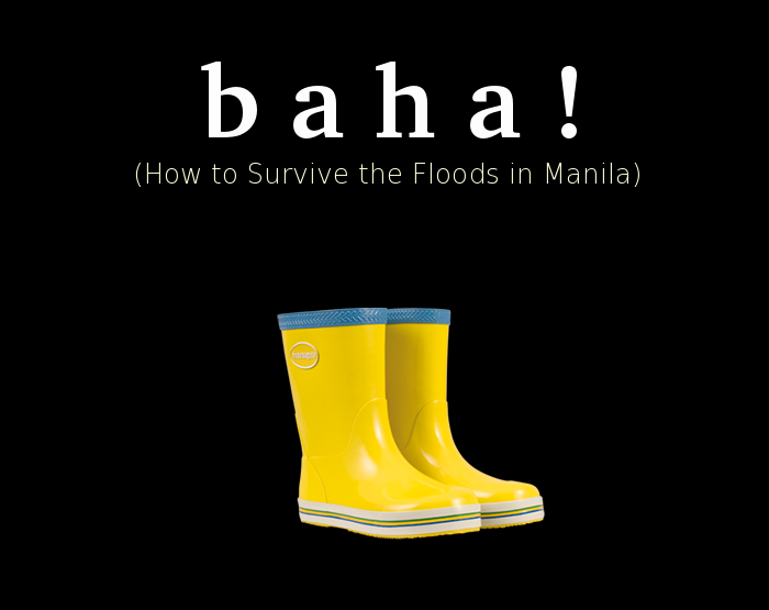 what to do in case of flood , manila