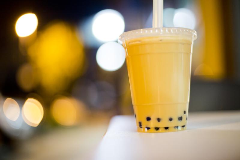 milk tea photo