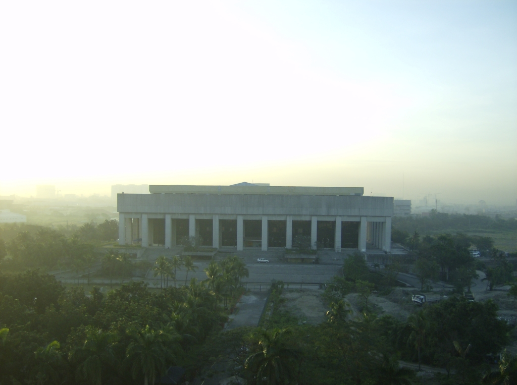 Manila_Film_Center_at_Dusk