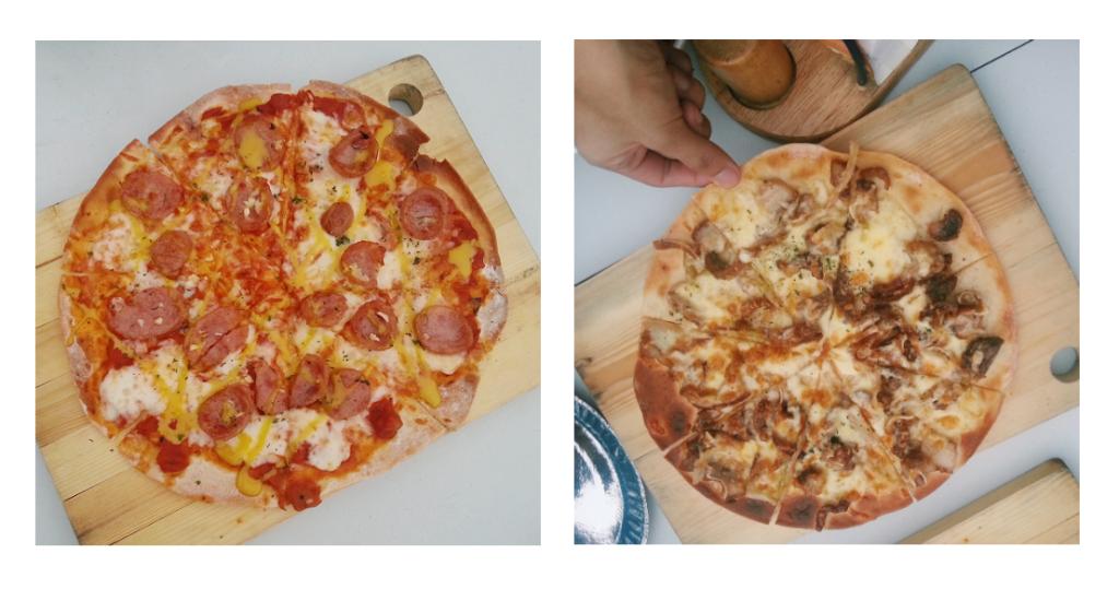 joreen's longaniza and sisig pizza