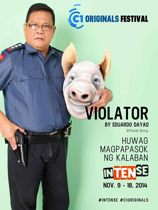 Violator Cinema One Originals 2014