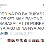 A Twitter User Gives the Best Hugot Lines Over Class Suspension