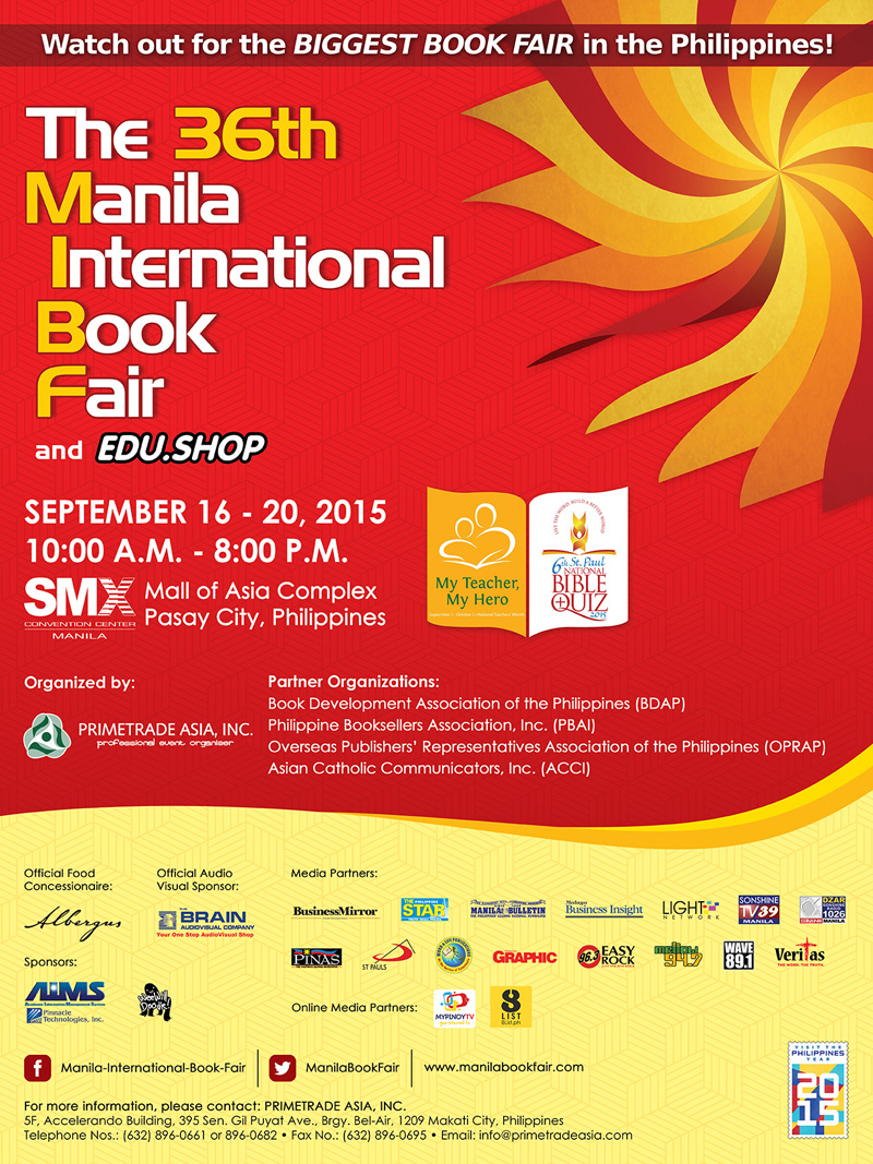 36th Manila International Book Fair 2015