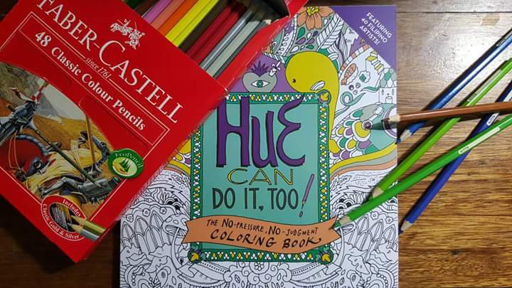Hue Can Do It Coloring Book