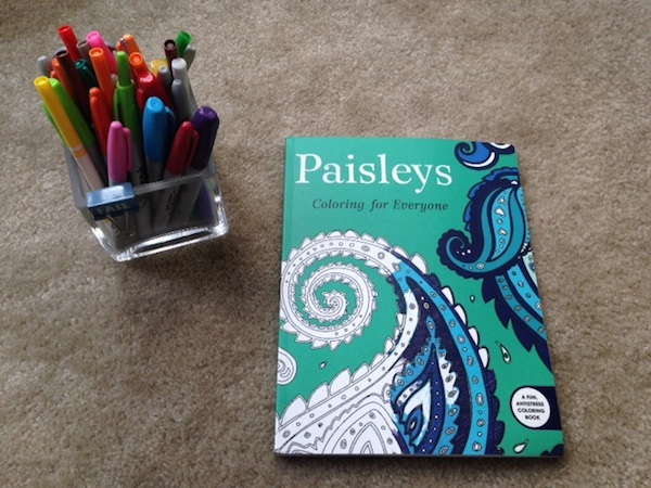 Paisleys Coloring for Everyone and Coloring for Artists