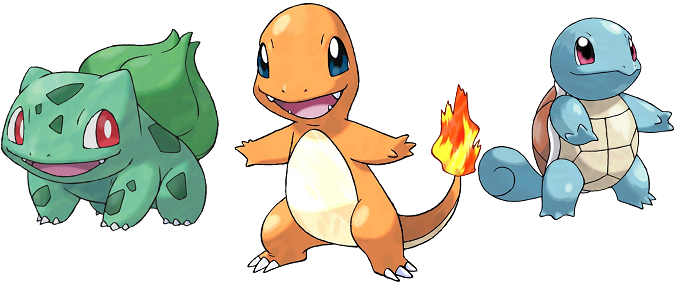 Pokemon Go Starters