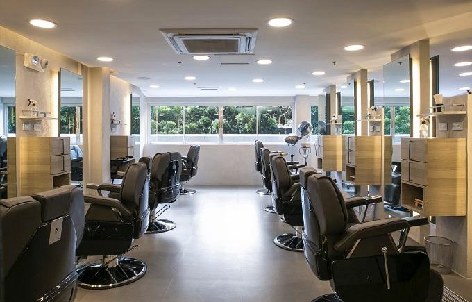 bruno barbershop inside