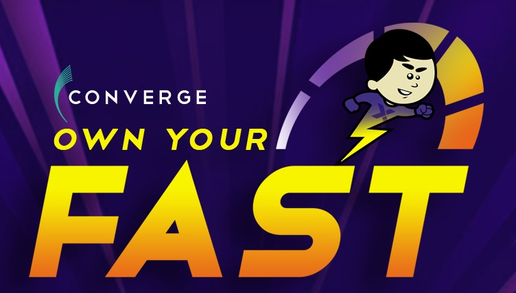 own your fast logo